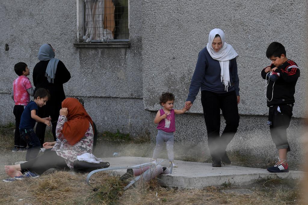 Gränsen Bulgarien-Turkiet. Foto: Urban Andersson