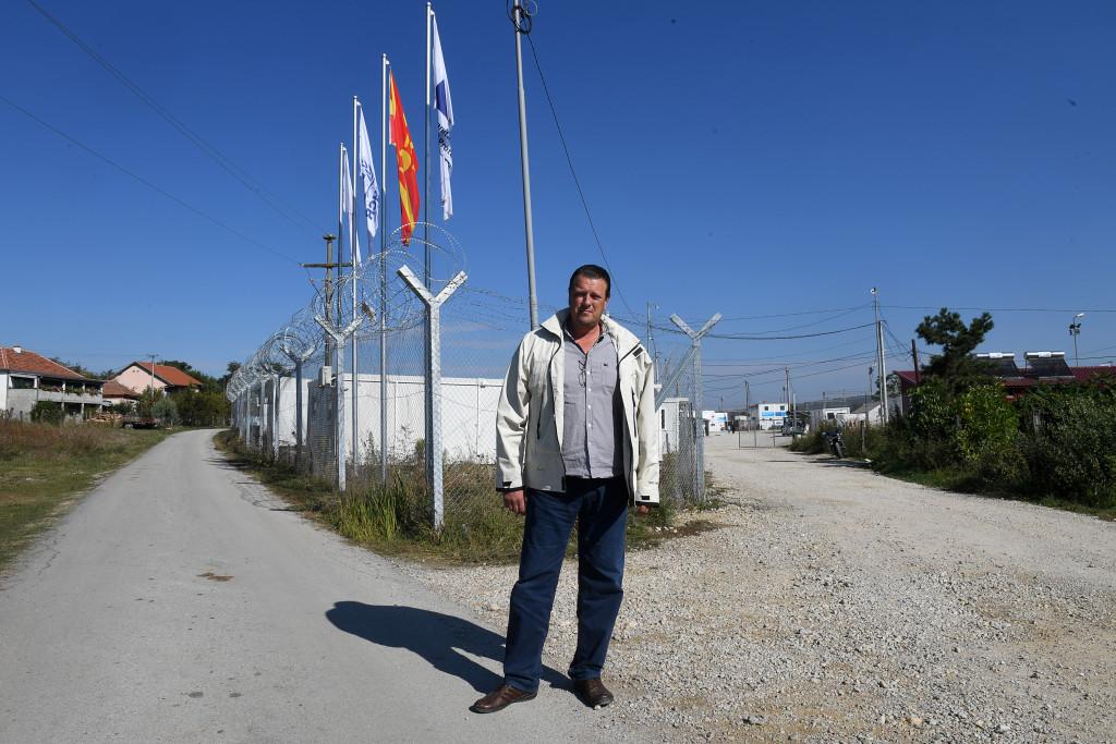 Gränsen Makedonien-Serbien. Foto: Urban Andersson